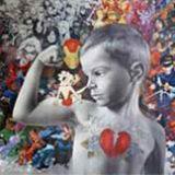 portrat-maleri-carsten-galleri-guldborg-køb-malerier-online-moderne-maleri-graffiti-malerier-2-3