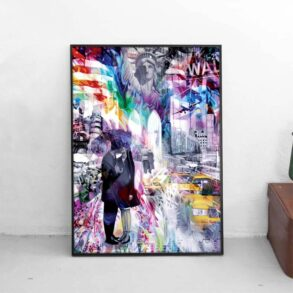 Køb plakat online ← Dansk Kunstplakat i få antal - signeret af kunstner