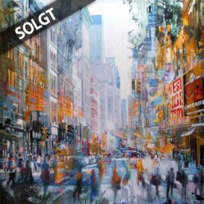 Bymaleri - kunstmaleri af new york - originalt maleri