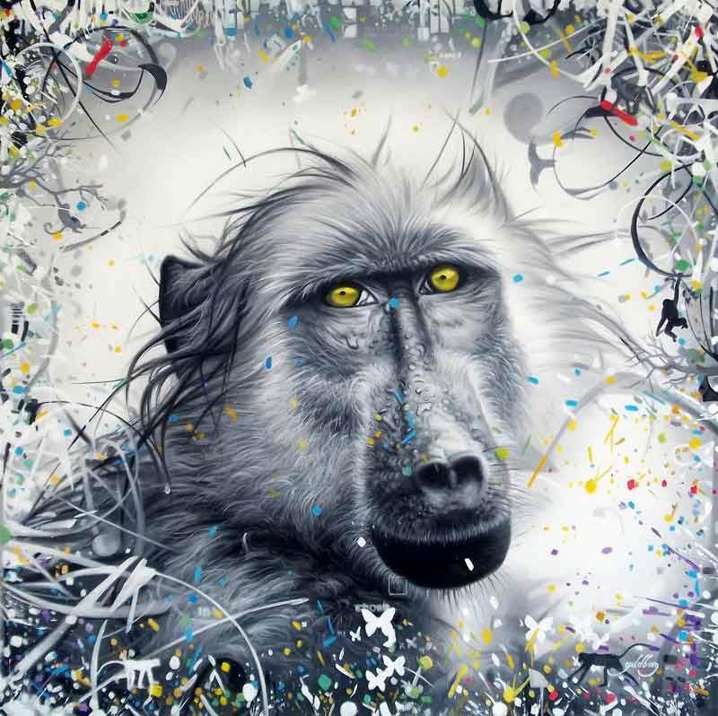 Abstrakt Kunst Til Salg → maleri af mister grey ← malerier til salg - se mister grey her