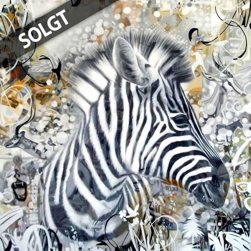 Abstrakt Kunst Til Salg → brunt kunst maleri til salg ← se kunstmaleriet af zebraen her