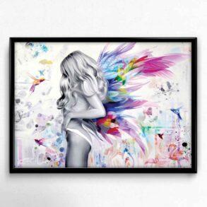 Sexet plakat Plakat af Fristet engel