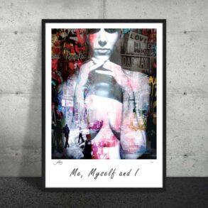 Plakat af kvinde