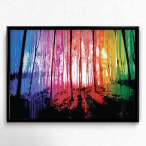 Skov i farver