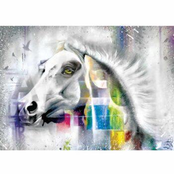 Maleri af hest