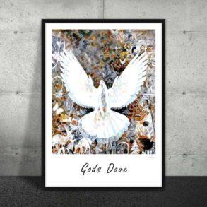 Plakat af smuk due