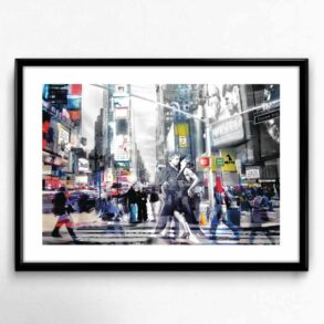 Plakat af dans i New York
