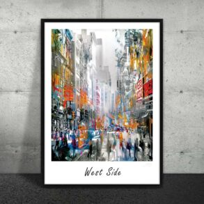 Plakat af New York