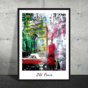 Plakat af Paris