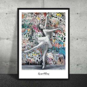 Plakat af ballerina