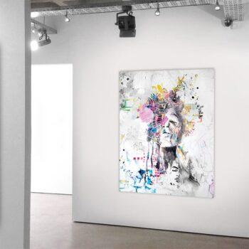 Moderne kunst på maleri