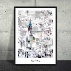 Plakat af Amager København