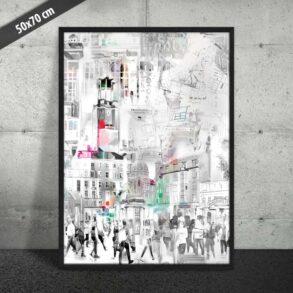 Kunst plakat af KBH